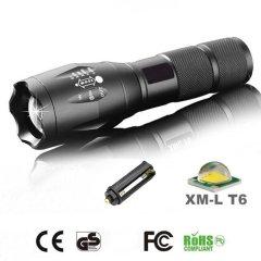 Power CREE-LED-Taschenlampe mit Zoom