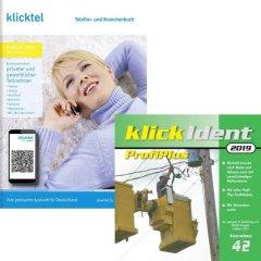 Set: klickTel Frühjahr 2019 + klickIdent ProfiPlus 42