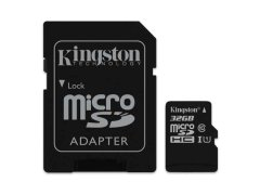 microSD-Speicherkarte 32 GB, CL10, mit Adapter
