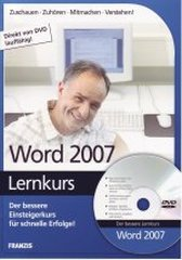 Lernkurs Word 2007