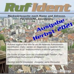 RufIdent 47, Herbst 2021