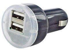 Kfz-Ladeadapter mit 2 USB