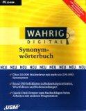 Wahrig digital Synonymwörterbuch