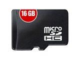 microSDHC, 16GB
