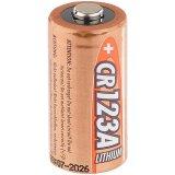 Foto-Lithium-Batterie Typ CR123A, 3 Volt