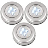 3er-Set LED-Touchlight